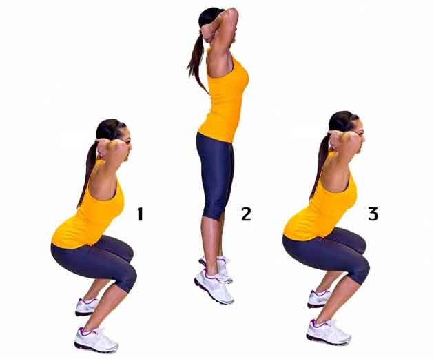HIIT Workout for Burn Fact and Full Body Exercise | The