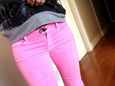 5 Tips to Wearing Clothes in Pregnancy and Postpartum- Elastic in jeans