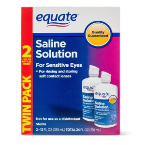 Equate Sterile best lens solution buyer guide reviews 2020 | best contact lens solution for dry eyes