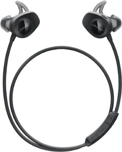 Bose 761529-0010 USB for Sports Wired In-Ear Headphones With Mic and Volume Control, Black