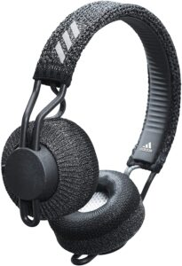 adidas RPT-01 Bluetooth Sports & Exercise Wireless On-Ear Headphones With Mic and Volume Control, Night Grey