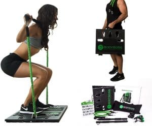 compact home gyms | BodyBoss 2.0 - Full Portable Home Gym Workout Package + Resistance Band