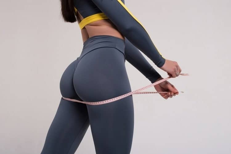 How to lose hip fat without exercise